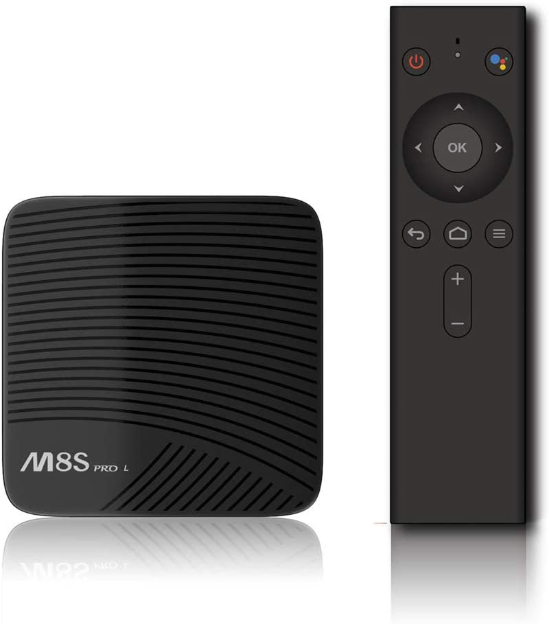 Android 7.1 STB M8S PRO L 3G / 16G 4K HD Network Player S9,Voice