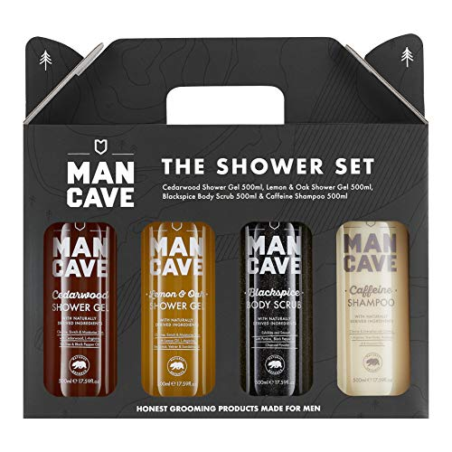 ManCave Shower Gift Set - 4 Sign...