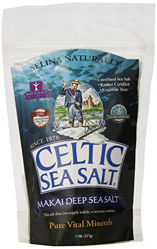 Celtic Sea Salt Makai Pure Gourmet Sea Salt, 8 Ounce