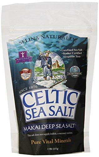 Celtic Sea Salt Makai Pure Gourmet Sea Salt, 8 Ounce