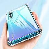 Étui de téléphone en Silicone Transparent Compatible avec pour Huawei P8 P9 P10 P20 P30 Lite Plus...