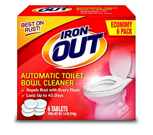Iron OUT AT46N Cleaner, Single, White, 6 Count