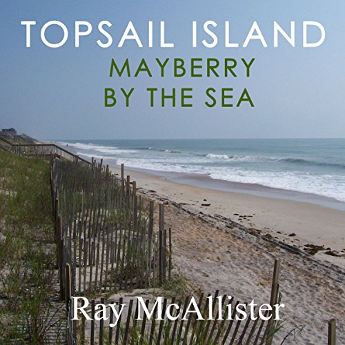 Topsail Island audiobook cover art