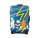 WSJMJ Funda de equipaje de viaje, funda protectora elástica para maleta de viaje, protector de maleta elástico de...