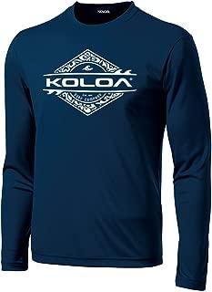 Joe's USA Koloa Surf Moisture Wicking Long Sleeve Graphic Shirts. Regular Big & Tall Sizes