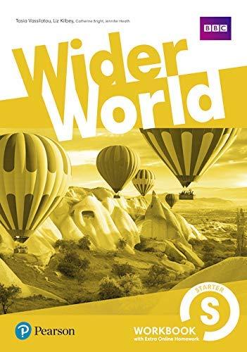 Wider World Starter Workbook with Extra Online Homework Pack