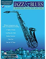 Jazz & Blues: Play-Along Solos for Alto Sax [With]