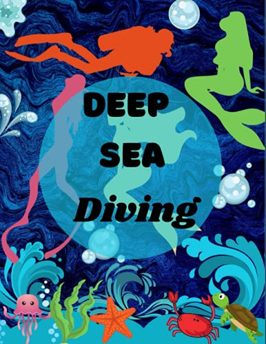 Deep Sea Diving Journal: Scuba Diving Diary notebook: Journal for Deep Sea Diving Beginners, Record and Track Ocean, Write down Dive Details, marble ... lovers, wide rule composition, perfect Gifts