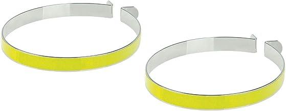M-Wave Unisex Adult Broekbanden Broekbanden - geel,