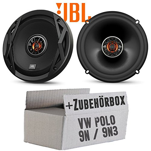 mächtig VW Polo 9N9N3 Front Speaker JBL Club 6522 | Bidirectional | Coaxial cable 16cm car installation accessories -…