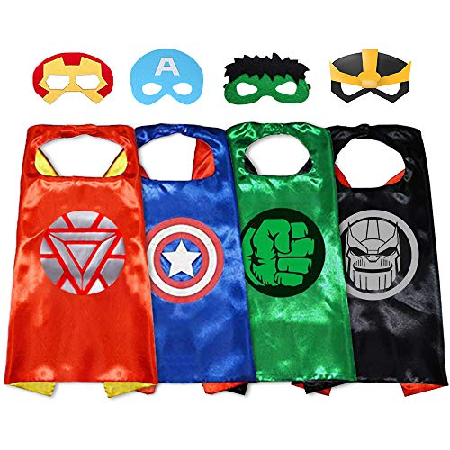 GREAMBABY Superhero Capes with Masks