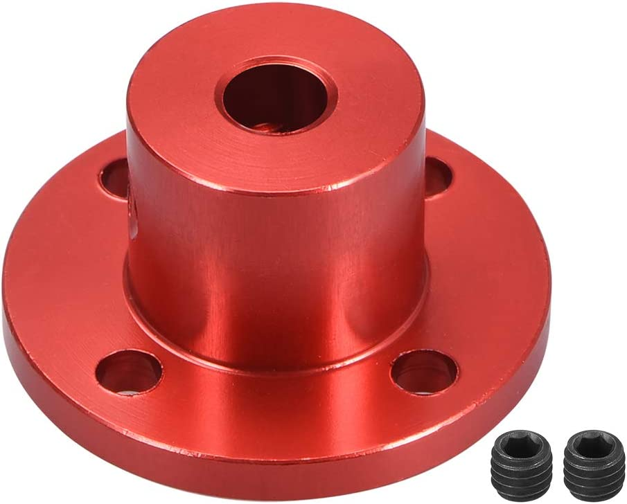 uxcell Albuquerque Mall 5mm Inner Dia H15D15 Rigid Motor Flange Coupling Guide Sh Ranking TOP3