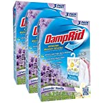 Damprid 773822075241 fg83k hanging moisture absorber fresh scent (3 boxes of 3 bag, blue 4 hanging bag protects valuable clothing from damage and musty odors. Effective for up to 60 days. Nontoxic and septic safe.