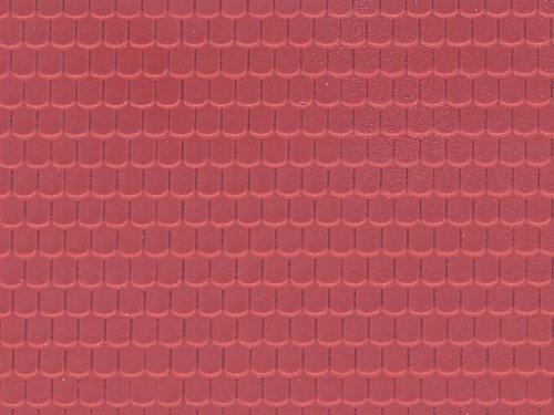 6026 - Vollmer H0 - Dachplatte Ziegel