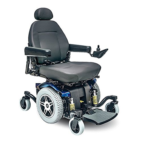 Best Buy! Pride Mobility - Jazzy 614 HD - Heavy Duty Power Chair - Viper Blue