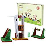 Butterflyfields Build RopeWay Elevator STEM Toy for Kids 8 to 10 Years Boys