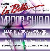 La Bella VSE946 09-46 VAPOR SHIELD エレキギター弦×6セット