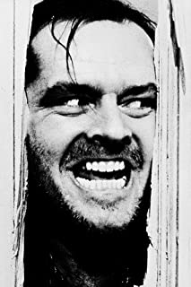 Jack Nicholson In The Shining 24X36 Movie Poster iconic