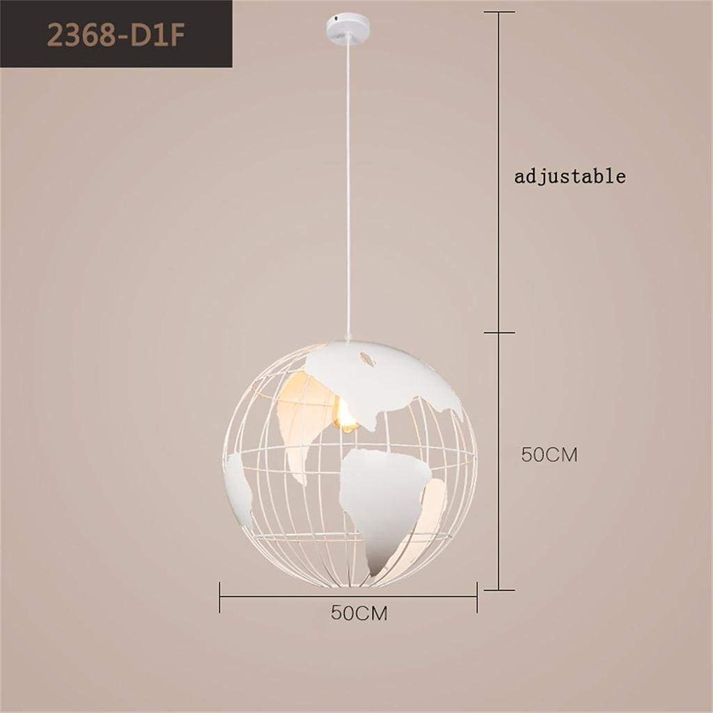 Skandinavische Modern Minimalist, der Schlafzimmer Flur Creative Arts Cafe Bar Restaurant  Globus  mit einem einzigen Kopf Kronleuchter - Beleuchtung Objekte der Dekoration Lichter (Farbe  Schwarz -50