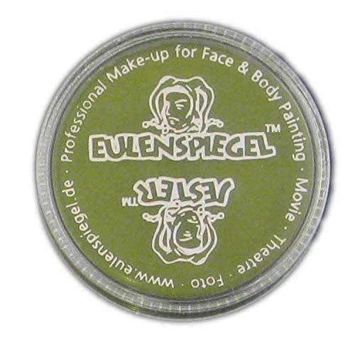 Miroir de poche à chouettes Crème de maquillage Vert