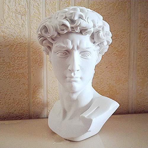 David Cabeza De Retratos del Busto De Yeso Mini Estatua De Miguel Ángel Buonarroti La Decoración del Hogar De La Resina del Arte del Arte del Bosquejo Práctica