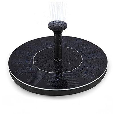 Amazon - 50% Off on  Solar Fountain Pump, 1.4W Solar Bird Bath Fountain Water Pump, Submersible