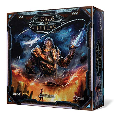 Edge Entertainment- Lords Of Hellas - Español, Color gris (EEARLH01) , color/modelo...