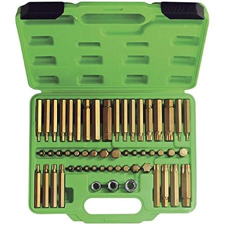 JBM 52753 Puntas Set de 55 Piezas Verde