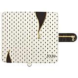 グルマンディーズ バンダイ ジョジョの奇妙な冒険 黄金の風 汎用手帳型スマートフォンカバー(M ) ブチャラティホワイト jjk-23b