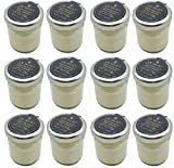 Le Must Premium Organic French Mayonnaise Mini Glass Bottle 1.1 ounce - pack of 12 jars - Roomservice