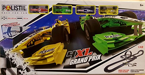 Polistil- Pista Elettrica 4XL Grand Prix, 960680