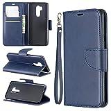 Coque de téléphone Cas pour Portefeuille multifonctionnel LG G7 Coque en cuir de téléphone...