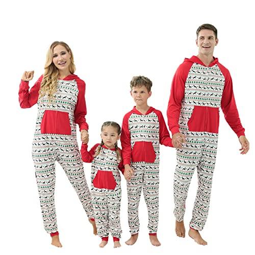 Pijamas familiares a juego - Ropa de dormir de Halloween Traje suave para padres e hijos para adultos y niños bebés, Wkid, 3-4 Años