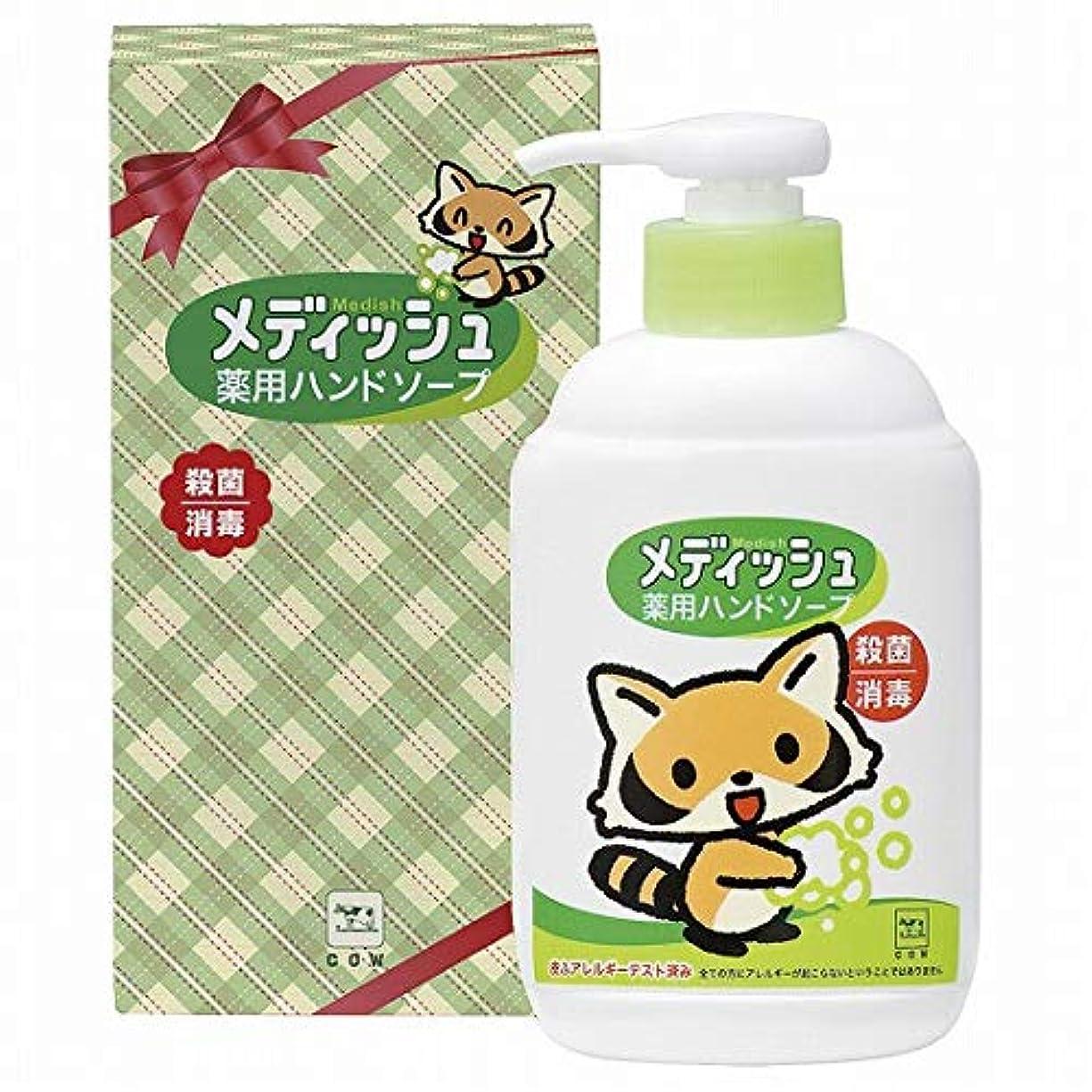 フレキシブル好奇心牛乳石鹸 メディッシュ 薬用ハンドソープ 250ml 箱入