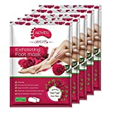 Best Foot Peels - Foot Peel Exfoliating Mask (5 Pairs) for Soft Review