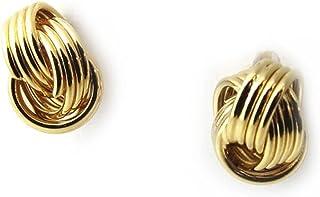 Les Trésors De Lily [N1245] - Orecchini oro placcato 'Chorégraphie' - 6 mm.