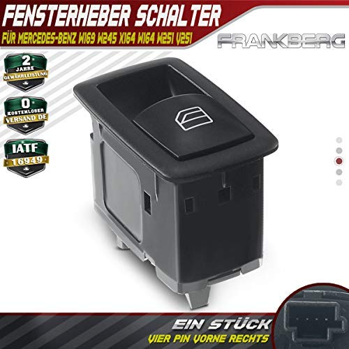Fensterheber Schalter Vorne Rechts Hinten Links Oder Rechts für W169 W245 X164 W164 W251 2004-2018 2518200510