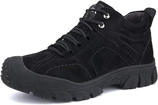 Willsky Chaussures De Sécurité des Hommes, Bottes De Sécurité Steel Toe Protection Plus De Travail Imperméable Velours Cha...