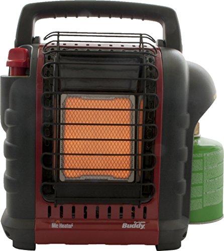 Mr. Heater Portable Buddy Gasheizung inkl. Adapter für Gaskartuschen mit 7/16-Gewinde; - 6