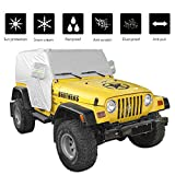 JeCar for Jeep Car Cover Weatherproof Car Cover Protect...
