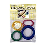 Regency Wraps Evendough Bands Rolling Pin Rings, 1 count, Red/Blue/Yellow/Green