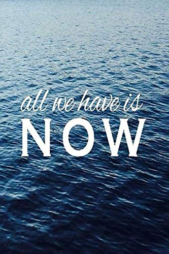 ALL WE HAVE IS NOW: Prayer Journal for Men Navy Blue Ocean - Devotional Prayer Diary - Cultivate an Attitude of Prayer, Praise and Thanks – 3 Month ... Journal (Christian gifts for Men, Band 1)