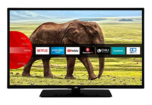 JVC LT-43VF5955 43 Zoll Fernseher (Full HD, Triple Tuner, Smart TV, Bluetooth, Works with Alexa) [Modelljahr 2021]