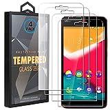 Ycloud 4 Pack Vidrio Templado Protector para Wiko Rainbow Jam, [9H Dureza, Anti-Scratch] Transparente Screen Protector Cristal Templado para Wiko Rainbow Jam