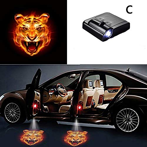 Yollhy 4 in1 LED Auto Atmosph/äre Lampe Innenraum Ambient Star Light USB Romantische Dekoratives Licht f/ür Auto//Home//Party Car Atmosphere Light Projector
