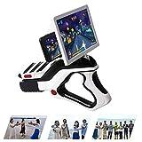 FXQIN AR Juego de Pistola de Realidad Aumentada Bluetooth Regulador del Juego para los Juegos de iPhone y los teléfonos Android, la Novedad Juguetes para niños Familias, 3D 360 Grados de visión