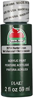 Apple Barrel Acrylic Paint in Assorted Colors (2 oz), 20754, Hunter Green