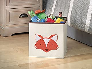 Whitmor Kids Canvas Collapsible Cube Fox