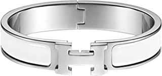 DAIDCI Unisex Fashion Stainless Steel Enamel Bracelets bracelets for women