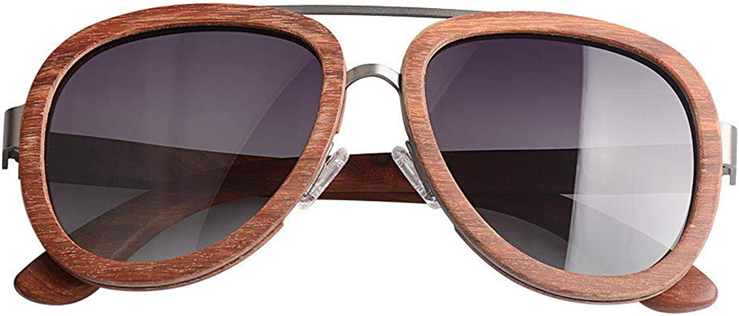 Natural Wooden Sunglasses Polarized Glasses Both Men and Women Personality Eye Predector Uv Predection